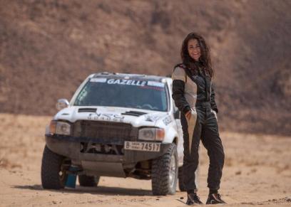 يارا شلبي أول متسابقة رالي في مصر