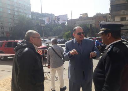 اللواء عصام سعد مدير أمن الجيزة