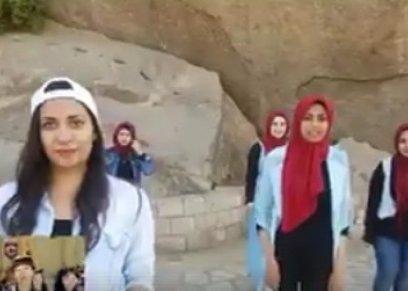 لقطة من فيديو طالبات ألسن أسوان