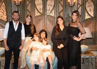 أسرة الفنان أحمد زاهر
