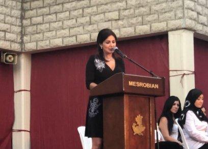 الإعلامية اللبنانية لينا دياب
