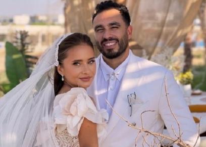 نيللي كريم وزوجها