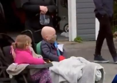 الطفل خلال الترحيب به