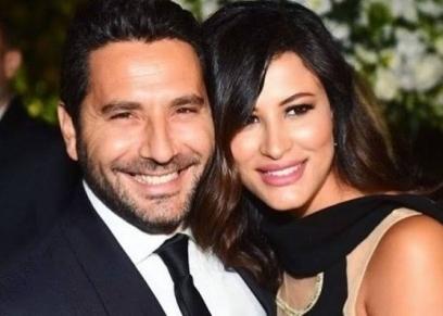 وسام البريدي وزوجته ريم السعيدي