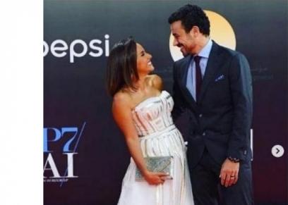 علا رشدي وأحمد داود خلال مهرجان القاهرة السينمائي