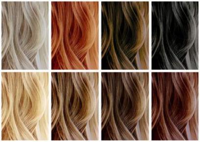 الوان الشعر