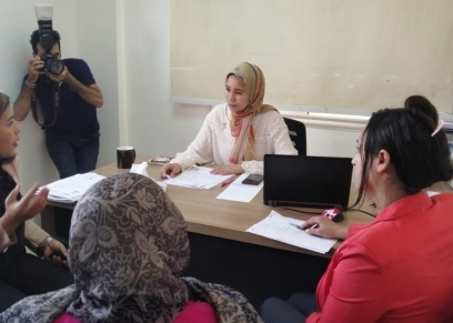 تنصيب شابة من محافظة القليوبية بمنصب رئيس