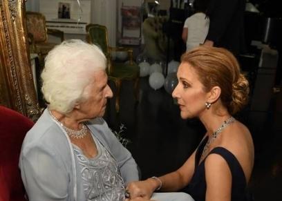 سيلين ديون ووالدتها الراحلة تيريز