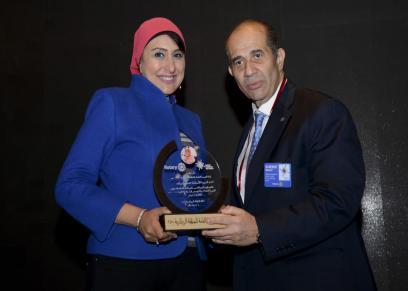 تكريم الكاتبة الصحفية هدى رشوان