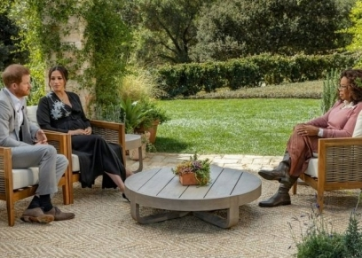 مقابلة اوبرا وينفري مع هاري وميجان ماركل