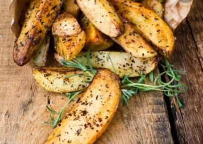 بطاطس مشوية بالأعشاب
