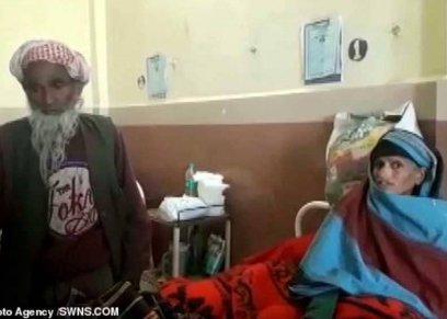 في حالة نادرة.. امرأة هندية صاحبة الـ65 عام تنجب طفلتها
