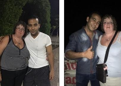 البريطانية والشاب المصري