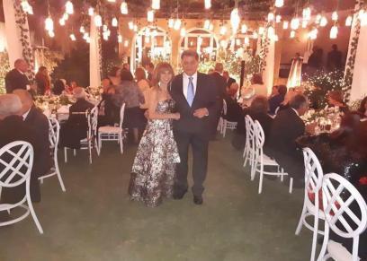 زفاف سامية علوبة مدربة اللياقة بعد تجاوزها الستين.. ومعلقون: