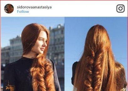 عارضة الأزياء الروسية  أناستاسيا سيدوروفا