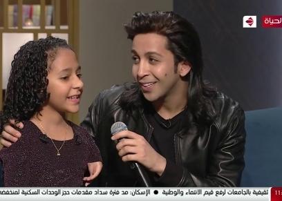 هشام جمال والطفلة رحمة