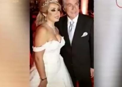 مصطفى فهمي وزوجته