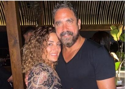 أمير كرارة وزوجته