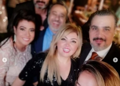 فستان بدون أكتاف وبكاء الأب.. مشاهد من حفل زفاف ابنة نشوى مصطفى