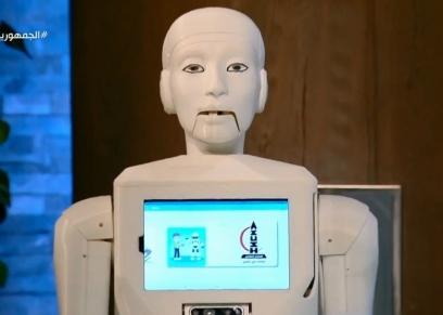شمس أول ممرضة روبوت فى مصر