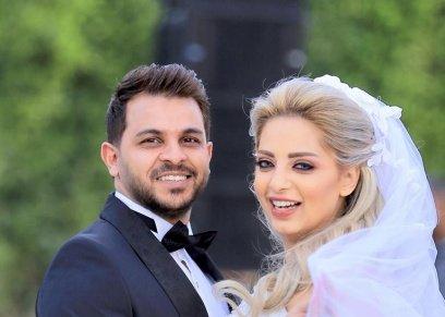 بالصور| بعد أسبوع زواج.. مي حلمي تتغزل في  زوجها محمد رشاد: