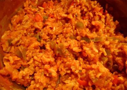 طريقة عمل الأرز الأحمر