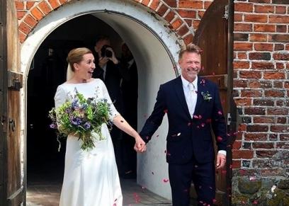 من حفل زفاف رئيسة وزراء الدنمارك