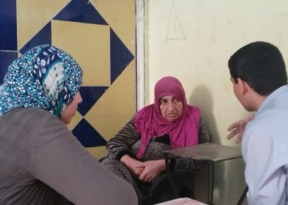 سيدة سورية بلا مأوى في شارع فيصل ترفض الانتقال مع