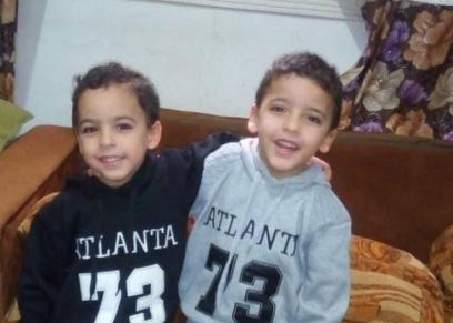 الطفلين محمد وعلي
