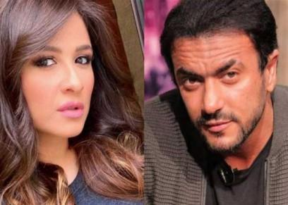 ياسمين عبد العزيز وزوجها أحمد العوضي