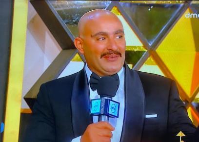 أحمد السقا خلال حفل إفتتاح مهرجان القاهرة