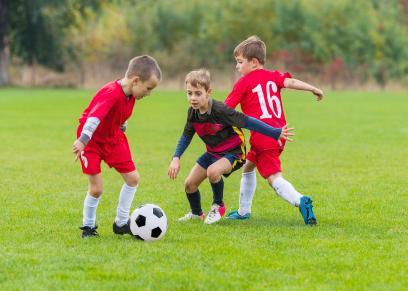 ممارسة الأطفال للرياضة
