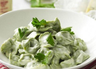 Tortellini spinach