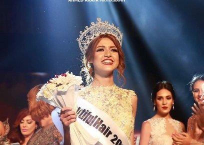 فرح شعبان ملكة جمال مصر 2017