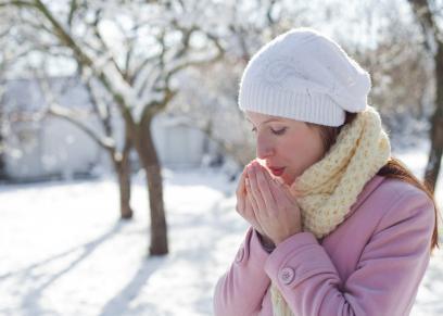 علاج برودة الأطراف