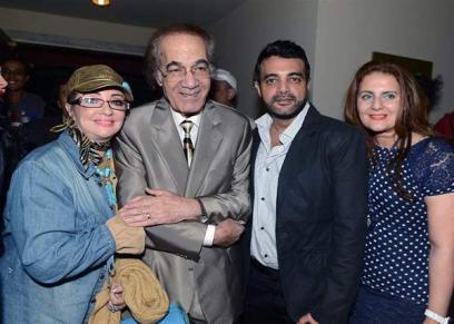 شهيرة زوجها الراحل الفنان محمود يس وأبنائهما