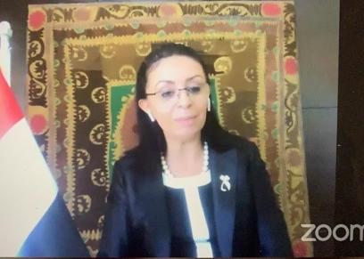 مايا مرسى رئيسة المجلس القومى للمرآة
