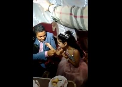 الطفلين العروسين