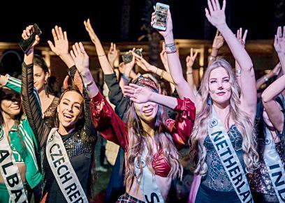 مسابقة توب موديلز لملكة جمال العالم ٢٠١٩ بالغردقة
