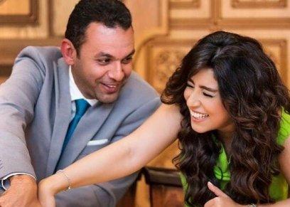 ايتن عامر تهنىء زوجها بمناسبة عيد زواجهم: