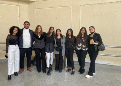 مشروع تخرج طلاب إعلام