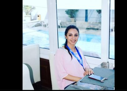 أول فتاة غير محجبة تفوز بمنصب رئيس اتحاد طلاب دار علوم