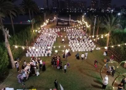 حفل تخرج طلاب كلية تربية فنية جامعة حلوان