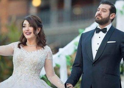 عمرو يوسف يهنئ زوجته