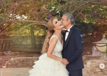 حفل زفاف الفنانة رولا سعد