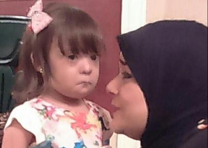 إيمان وابنتها