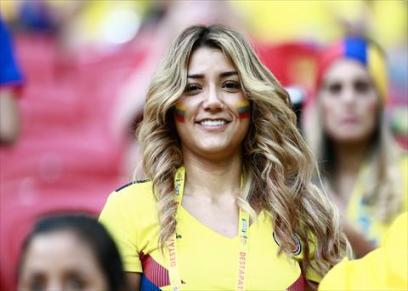 مشجعاتت كولومبيا