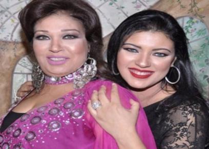 فيفي عبده وابنتها عزة