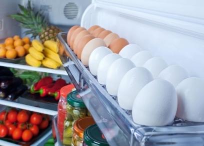 بيض في الثلاجة