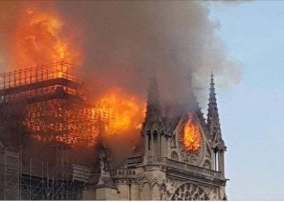 إليسا تعلق على حريق كنيسة نوتردام بفرنسا